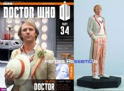 Doctor Who Figurine Collection #034 Fifth Doctor Peter Davison Eaglemoss